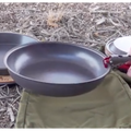 Firebox Stove Anodized Fry Pan 10""