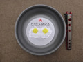 Firebox Stove Anodized Fry Pan 8""
