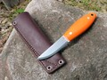 Kamrat Companion Knife G10 Orange Hi-Vis