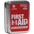 Adventure Medical Kits .5 First Aid Tin W/ Rescue Howler Whistle.