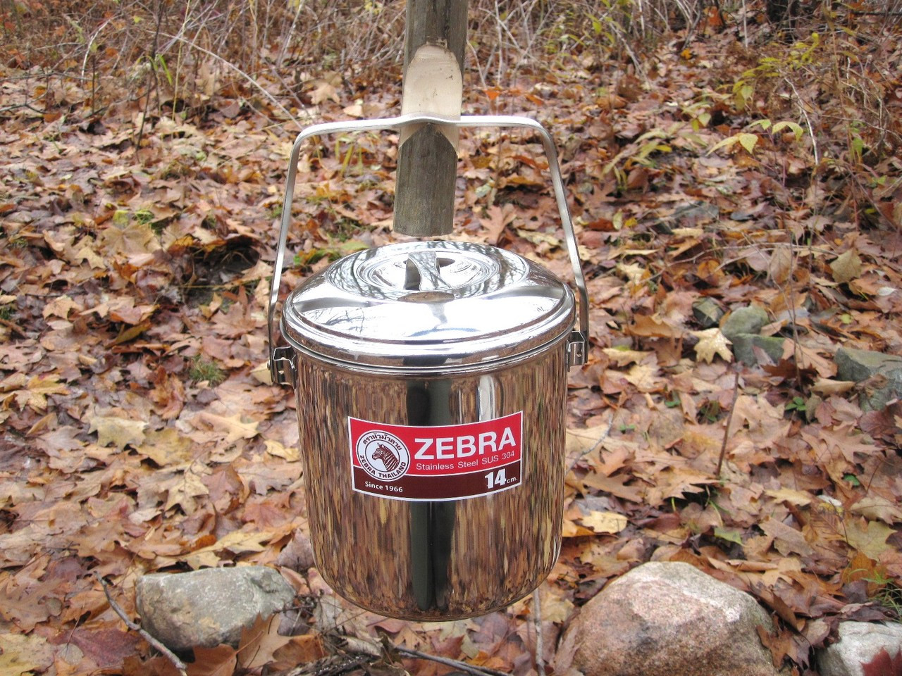 Zebra Stainless Billy Pot 14cm Bens Outdoor Products