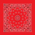 Bandana 100% cotton U.S.A. red
