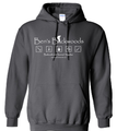 Ben's Backwoods Hooded Sweatshirt Black
