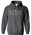 Ben's Backwoods Hooded Sweatshirt Black