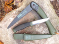 Mora / Bahco OD Green Knife / Bahco Laplander Saw COMBO