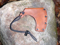 "Leather Axe Sheath Mask 4"" Blade Width"
