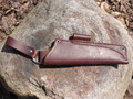 JRE BUSHCRAFT Sheath LEFTY W/ Dangler Mora Bushcraft Black Robust