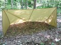 MSS Multipurpose Survival Shelter 5' x 8' Tarp 1.9oz. Coyote Brown