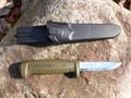Mora Basic 511 Carbon Knife MG Green
