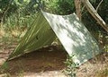 Snugpak  All Weather Shelter 10' x 10' Tarp Coyote