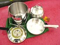 Zebra 16cm Billy Pot W/SS Clips GSI Stainless Kettle Combo