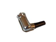 Vintage Metal Spark Plug Boot, non-resistor type