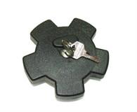 38mm Black Star Locking Gas Cap
