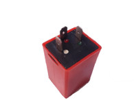 Moped Turn Signal AC Flasher Relay Fuse - 3 prong -6V / 10W