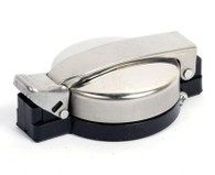 Universal Flip Top Gas Cap for motorcycles and mopeds.