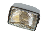 Rectangular Moped Headlight