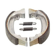80mm x 18mm Brake Shoes Open End with Springs