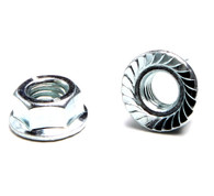 6mm  Nut with flange   *Sold Each*