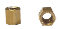 Tall  Brass Intake / Exhaust Nut M6 10mm x 8mm (SOLD EACH)