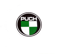 Puch Logo, Large round decal *style 2*