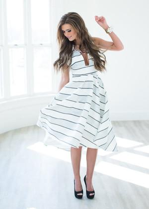 Meet Me at Rockefeller Plaza Dress