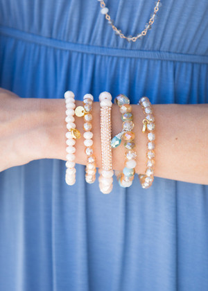 Bubbling Over Bracelet Set CLEARANCE
