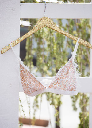Pretty Little Thing Lace Bralette White CLEARANCE