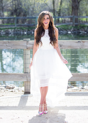 Wedding Day Designed Dress White CLEARANCE
