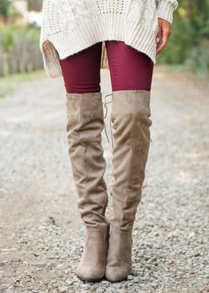 Basic Skinny Jeans Burgundy