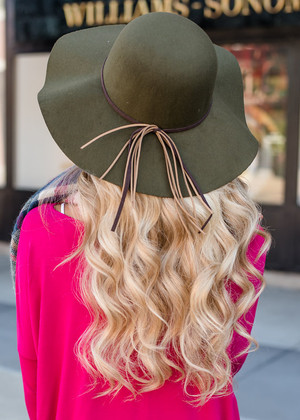 The Best Fall Hat Olive CLEARANCE