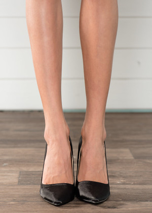 We Own The Night Black Heels CLEARANCE