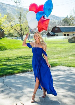 Flowy Smocked High Low Dress Royal Blue CLEARANCE