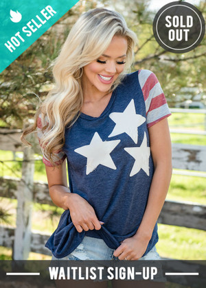 Liberty Bell Stars and Stripes Top