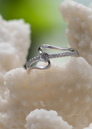 Now and Forever Sterling Silver Ring Setting (Pearl NOT Included)