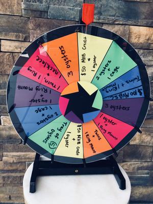 Spinwheel Prize Game
