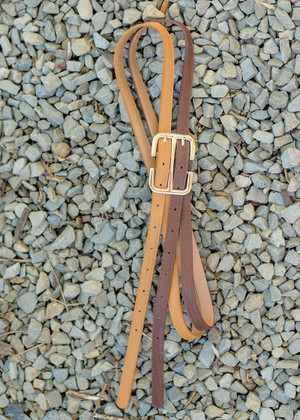 Two Toned Faux Leather Double Belt Tan/Brown