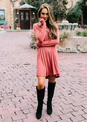 Never Settle Down Criss Cross Dress Brick