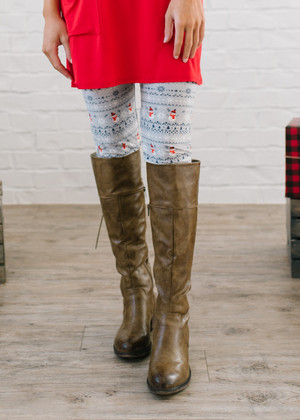 Build Me a Snowman Leggings CLEARANCE