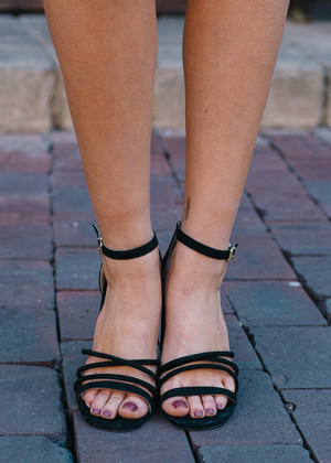 Not Your Basic Heels Black