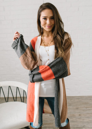 Love Everything About You Stripe Cardigan CLEARANCE
