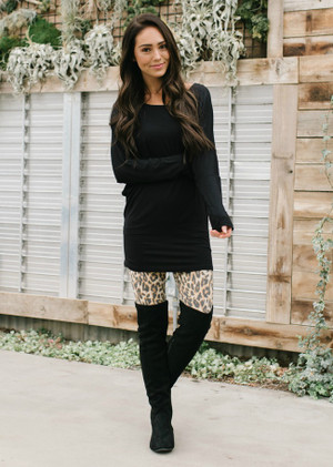 Welcome To The Jungle Leopard Print Leggings