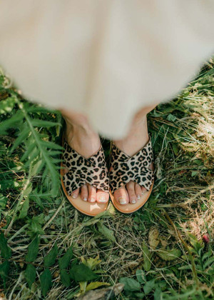 Take Me Anywhere Leopard Sandals