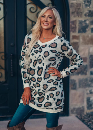 All The Best Leopard Tunic
