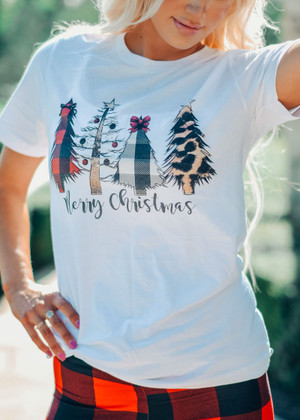 Different Types of Christmas Trees Tee CLEARANCE
