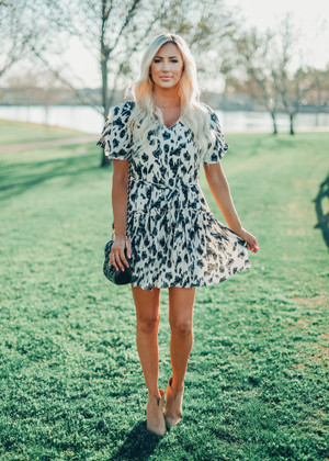 Change Is Coming Animal Print Leopard Dress