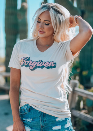 Forgiven Tee Soft Cream