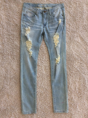 Believe In My Love Distressed Jeans