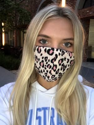 Cheetah Print Non Medical Cloth Mask