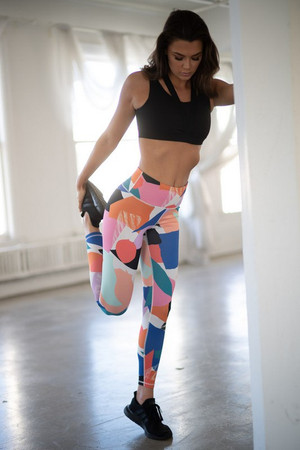 Nothing Left To Say Geometric Yoga Pants CLEARANCE