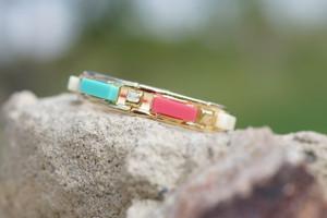 Happy Color Block Bracelet
